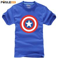 free shipping Captain America The First Avenger t shirt men T-shirts