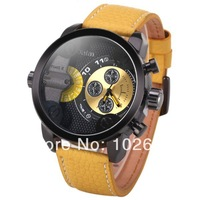 2014 hot sale brand OULM HP9415 Cool military sport Analog Digital Men's watch with Compass and thermometer sport watch
