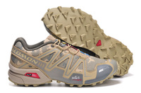 Salomon SPEEDCROSS 3 Camouflage Color Hiking Shoes Men Athletic Shoes Free Shipping
