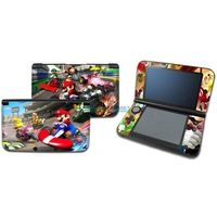 new racing SUPER MARIO Kart  vinyl DECAL Skin Sticker case Cover for Nintendo 3DS xl LL xl012 free shipping