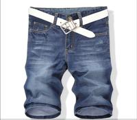 2014 Summer Fashion Men's Jeans shorts, Man denim shorts casual Wash blue Jeans pants