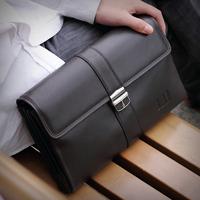 2015 fashion High-grade handbags The cow leather briefcase Men's briefcase Ms briefcase Unisex Super-large bugler bag