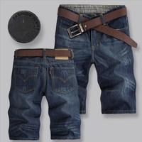2014 Free Shipping Mens Jeans Shorts,Fashion Brand Denim Jeans Shorts Men,Man Cotton Hot Sale Jeans Shorts