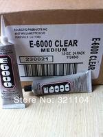 EMS Freeshipping!! 48set/lot  E-6000 Glue/Jewelry Making Glue/ Adhesive Glue  29.7ml
