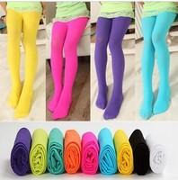 Retail Promotin spring& autumn child velvet pantyhose children's clothing girls tights multicolour dance stockings