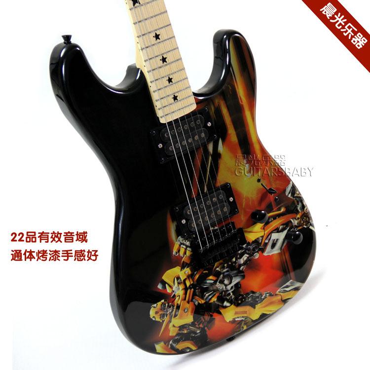 New 2014 Hot sale Electric guitar 22 applique sticker guitar Guitar instrument(China (Mainland))