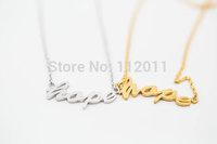 New fashion zinc alloy jewelry love Wishing charm hope beads bracelet for women girl charm bracelets free shipping
