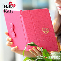 Cute Galaxy tab pro 8.4 leather case new arrival Hello kitty cover case for Samsung galaxy tab pro 8.4 T320 T321 freeship