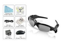 Music MP3 player Sunglasses 4GB Headset free shipping