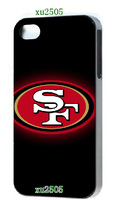 2014 Hot cases! 49ers  for iPhone 5 5s  1pcs +free shipping