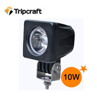 10W 850lm CREE OFF ROAD LED WORK LIGHT IP67 For Offroad Light Bars TRUCK BOAT TRAIN BUS