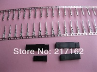 20 Sets Female & Male JST 2 Pin Black Color Housing & Pin Connector