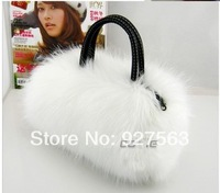 Bag wool bag fashion winter handbag messenger bag small bags women's handbag