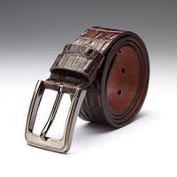 2014 new crocodile leather belt buckle printing personalized BELT-03