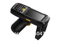 Android 4.0 Handheld computer,IP65 UHF RFID reader, Gun-style ,handheld data collect terminal, Bar code scanner,3G Retail PDA
