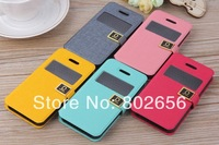 Luxury Designer Leather Case For Apple iPhone 5S 5 4S 4 Fashion Cell Phone Cover Shell For iPhone5 4G FREE SHIPPING