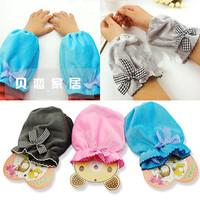Plush bow princess sleeve set short-sleeve set child raglan sleeve