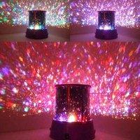 Novelty  Nightlight Amazing Flashing Colorful LED Star Master Star Beauty Sky Light Projector Lamp