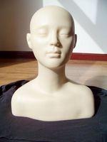 plastic/realist training head mannequin Burmax Celebrity Lisa Massage Practice Head