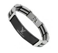 Brand New Fashion Titanium Stainless Steel Men's Wristband Bracelets Cuff  Bracelets Jewelry