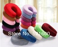U-shape neck pillow memory foam slow rebound cervical comfort health pillows travel car rest pillow cushion retail Free Shipping