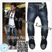 W29-W40#L34#Blue#825,New 2014 Italian Disel Brand Men's Jeans,Fashion Designer Large Size Skinny Perfume Ture Denim Jeans Men
