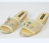 2014 Women's Sandals Summer Beach Flip Flops Lady Slippers Women Shoes Summer Sandals for Women Flat Casual Free Shipping.TB-8