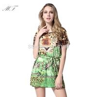 Big Size Women Clothes Girl Print Dress Brand Desigual Dress 2014 Sexy Plus Size Club Dress club dresses