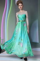 New Formal Cocktail Party Dresses Gowns Celebrity Casual Dress Elegant Flower Girl Wedding Dress Long Prom