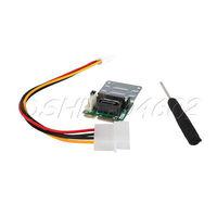New SATA to mSATA slot Adapter for mini-SATA interface with Power Cord