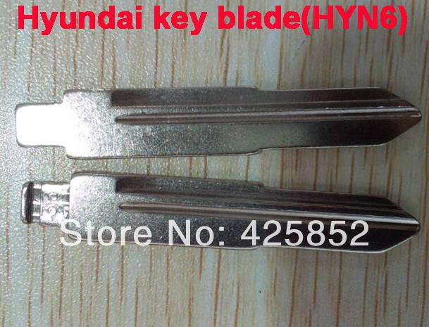 Hyundai Key blade(HYN6 Blade ) For Hyundai Key Blanks Hyundai Remote Key Cover Transponder Shell(China (Mainland))