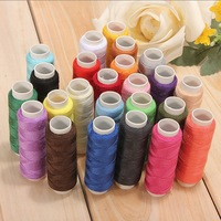 Embroidery thread Colorful Hot sale 100% polyester thread for machine embroidery 120D/2