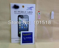 50pcs/lot&free shipping Clear LCD Screen Protector Guard for SONY Xperia Compact Z1 Mini