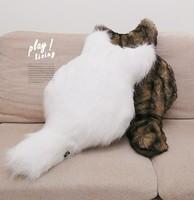 cat plush toy shaped pillow cushion realistic plush fabric sofa pillow car seat cushion outdoor cushion birthday gift for child