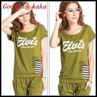 Best sale Women Clothing Set Cotton sweatshirts new casual set Fashion Women Sports Suits Freeing shipping S001