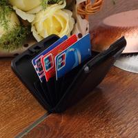 1pcs Aluminum Metal Waterproof Box Case Business ID Credit Card Holder Wallet FreeShipping Brand New