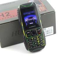 HUMMER H2 IP67 Waterproof phone Dustproof shockproof Outdoor Rugged Dual Sim Card Old man Kids mobile Russian French Language