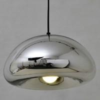Free shipping Dia 30cm lamp designe Tom Dixon Void Copper Brass Bowl Mirror Glass Pendant Lights