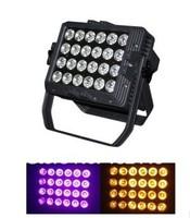 2014 NEW high power led par 24x18w RGBWA+UV 6in1 LED par waterproof  par can stage lighting