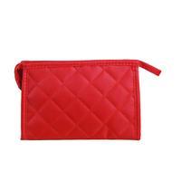 Fashionable Phone Pocket Notebook Storage Organizer Handbag Tote Bag Cosmetic Bags Large Size - Red