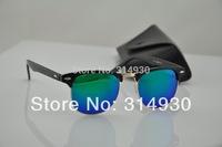 Wholesale , Men's sunglasses, women sunglasses , retro sunglasses, colored glass lenses, lens 48mm