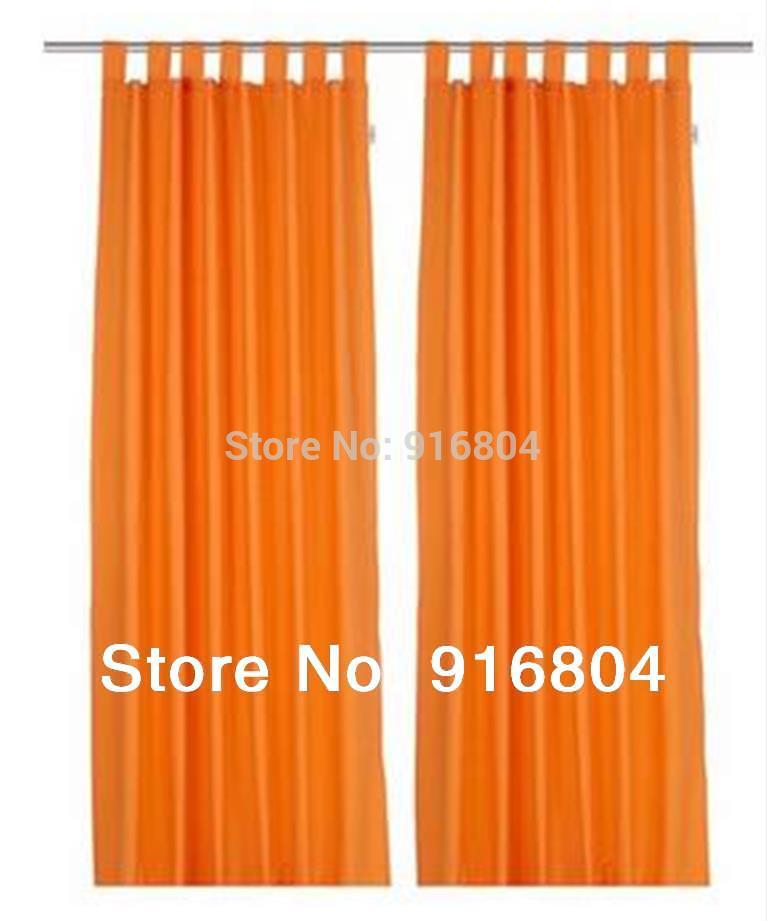 Keukendeur Kopen : Sheer Kitchen Curtains Orange