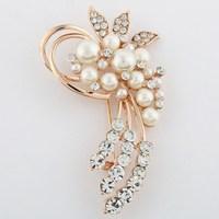 Exquisite bouquet brooch cravat girlfriend gift  brooch