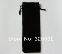 Factory direct sales Flannel Velvet Drawstring wedding pouch bag jewelry gift bags Size 6*20CM 100pcs Free shipping