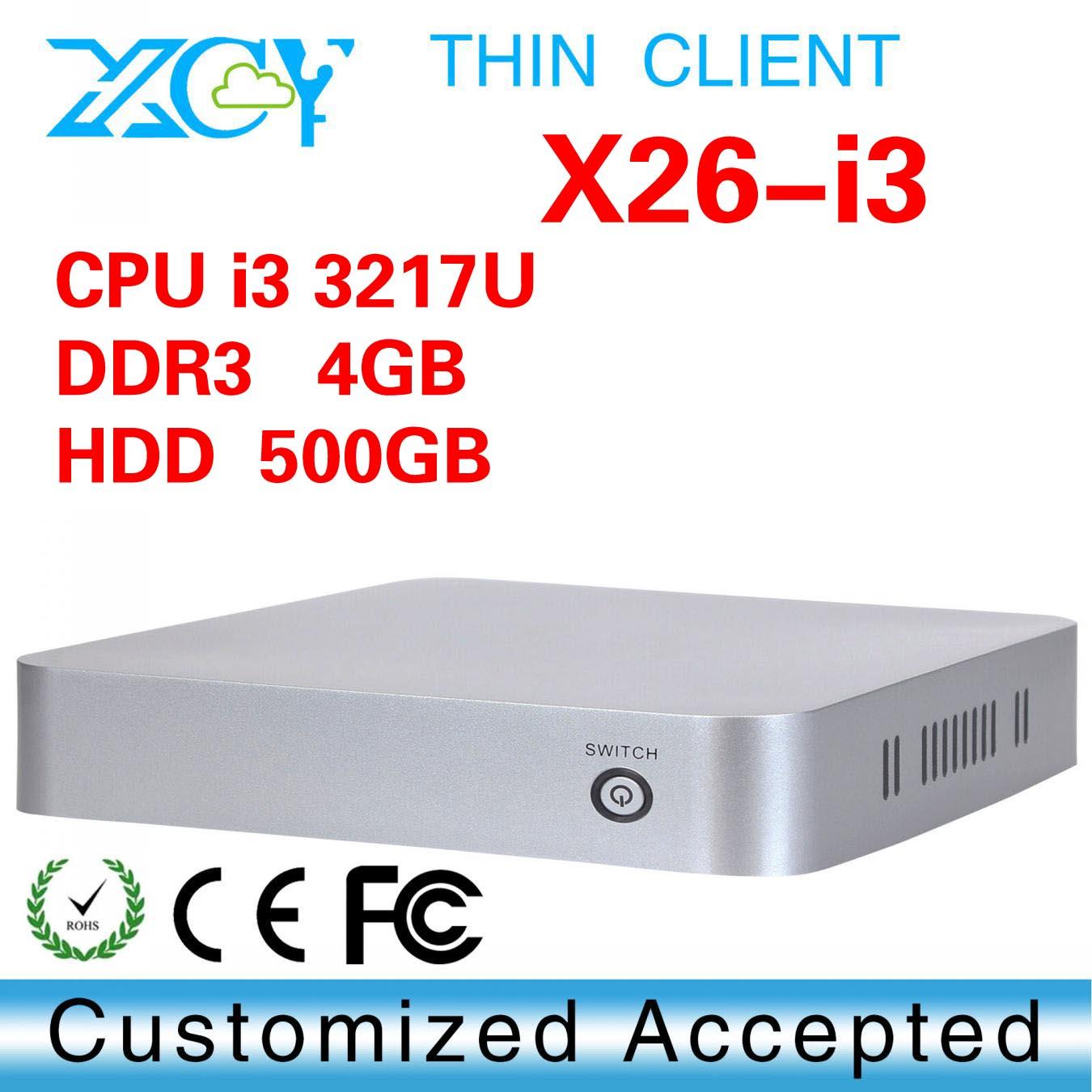 cheap mini computer linux, XCY X26-I3 thin client arm linux, mini pc thin client(China (Mainland))