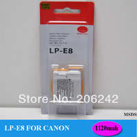 LP-E8 LPE8 550D/600D Camera battery Batterie Batterij Bateria AKKU Accumulator PIL