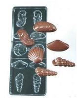 1061 shell transparent pc chocolate mould carbide mould transparent ice tray chocolate