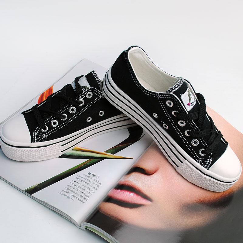 aliexpress popular blank canvas sneakers in shoes