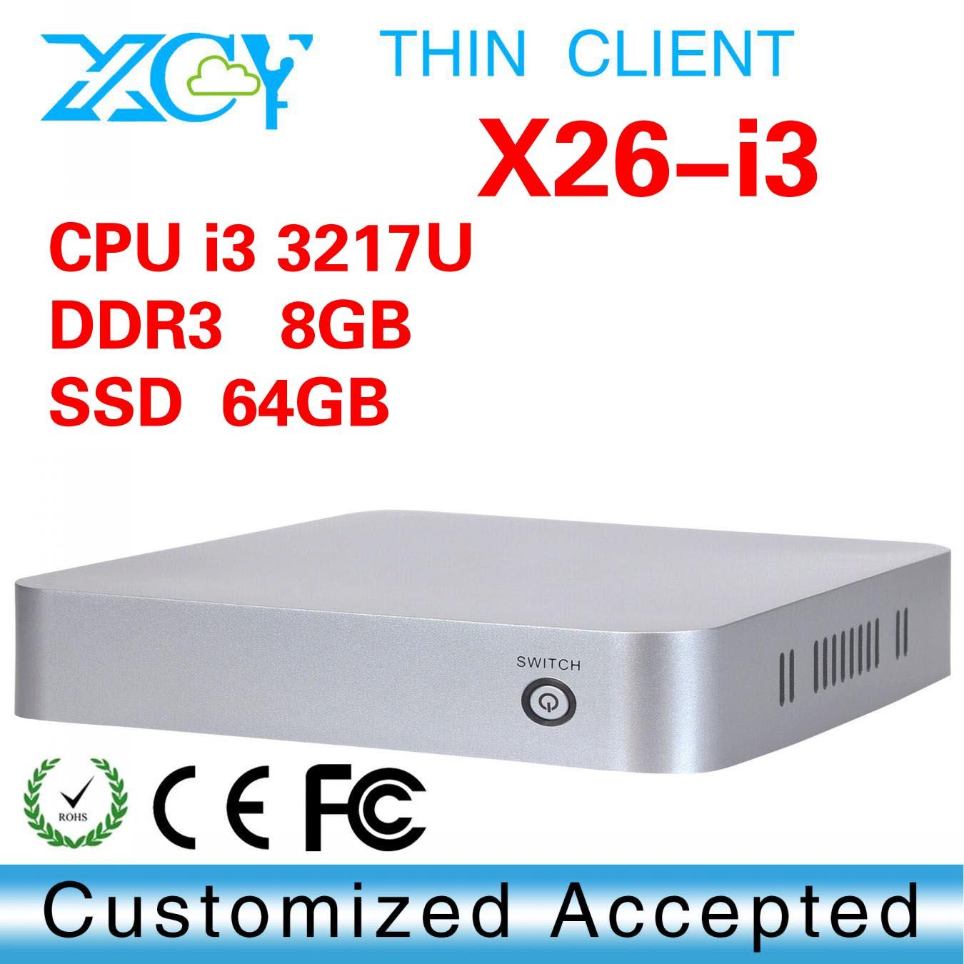 mini computer power supply 12V, XCY X26-I3 wifi pc station thin client, x86 embedded mini box pc(China (Mainland))