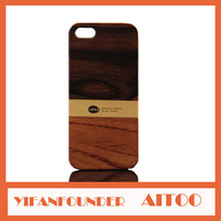 New Product African Padauk Collection Value Real Wood Case Wooden Back Cover For iPhone 5 5S Free Gift Retail Package